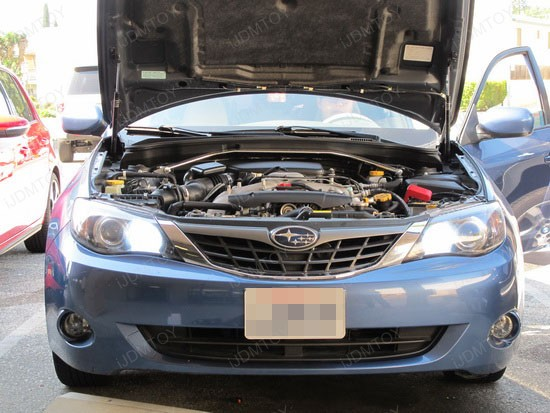 Subaru - Impreza - LED - Daytime - running - lights - 1